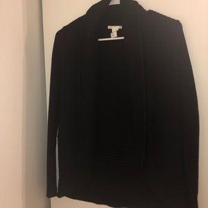 H&M's black cardigan